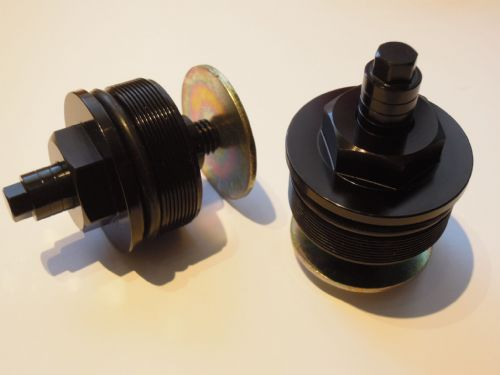 Fork Top Adjusters 43mm (Pair) Black XJRPFC01